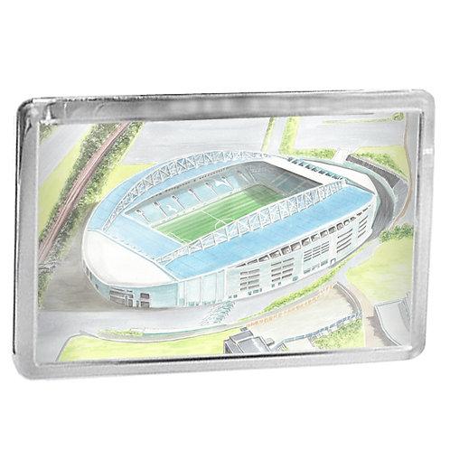 Brighton and Hove Albion - Amex Stadium - Fridge Magnet