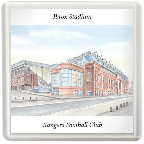 Rangers FC  - Ibrox Stadium Outside View - Coaster