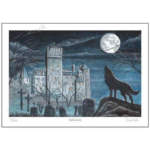Castle Dracula, Print A4 or A3