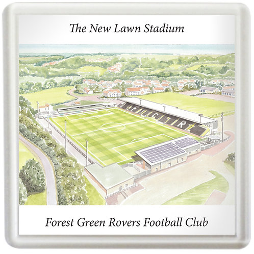 Forest Green Rovers Football Club - The New Lawn Stadium - Coaster