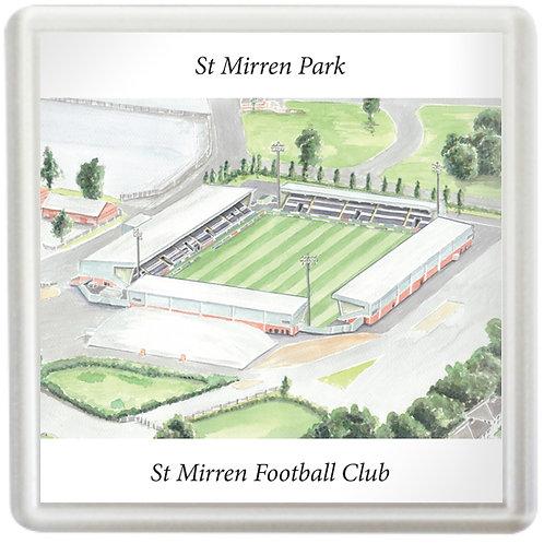St Mirren Football Club - St Mirren Park - Coaster