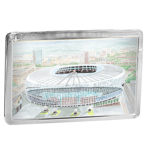 Tottenham Hotspur - The Tottenham Hotspur Stadium - Fridge Magnet