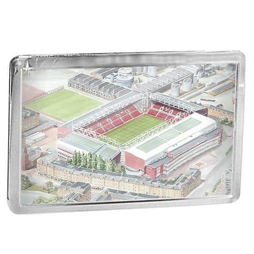Heart of Midlothian Football Club - Tynecastle Park - Fridge Magnet