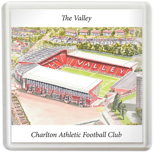 Charlton Athletic Football Club - The Valley - Coaster