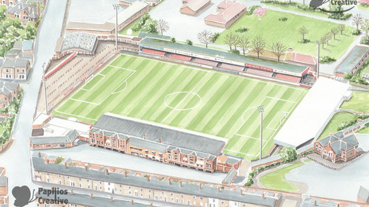 York City FC - Bootham Crescent