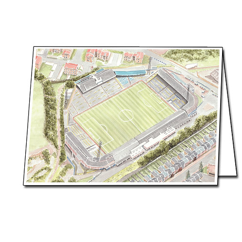 Millwall - The Old Den - Greetings Card Landscape, A5/A6
