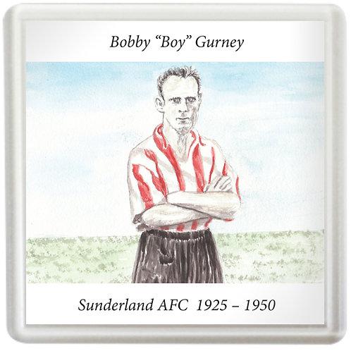 Sunderland AFC - Bobby Gurney - Coaster