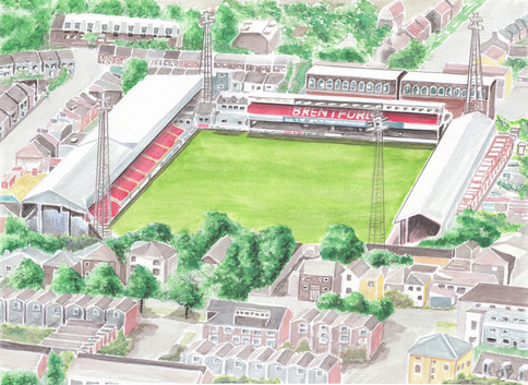 Griffin Park - Brentford Football Club