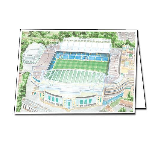 Chelsea - Stamford Bridge - Greetings Card Landscape, A5/A6