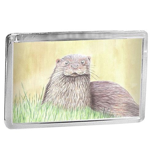 Otter - Fridge Magnet