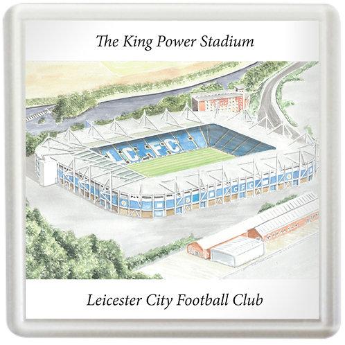 Leicester City - The King Power Stadium - Coaster