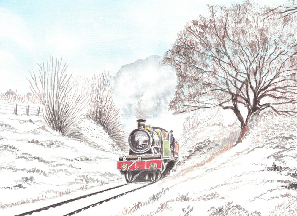 Winter On The Severn Vally Railway