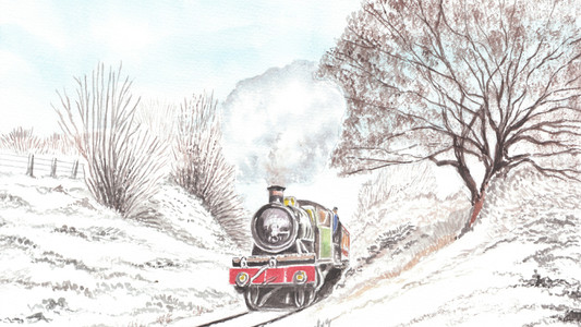 Winter On The Severn Valley