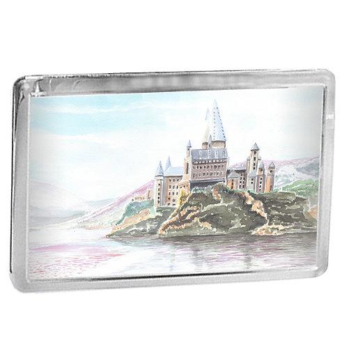 Hogwarts Castle - Fridge Magnet