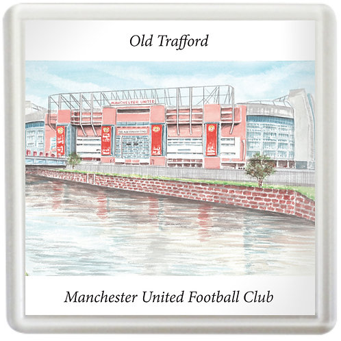 Manchester United - Old Trafford from outside - Coaster