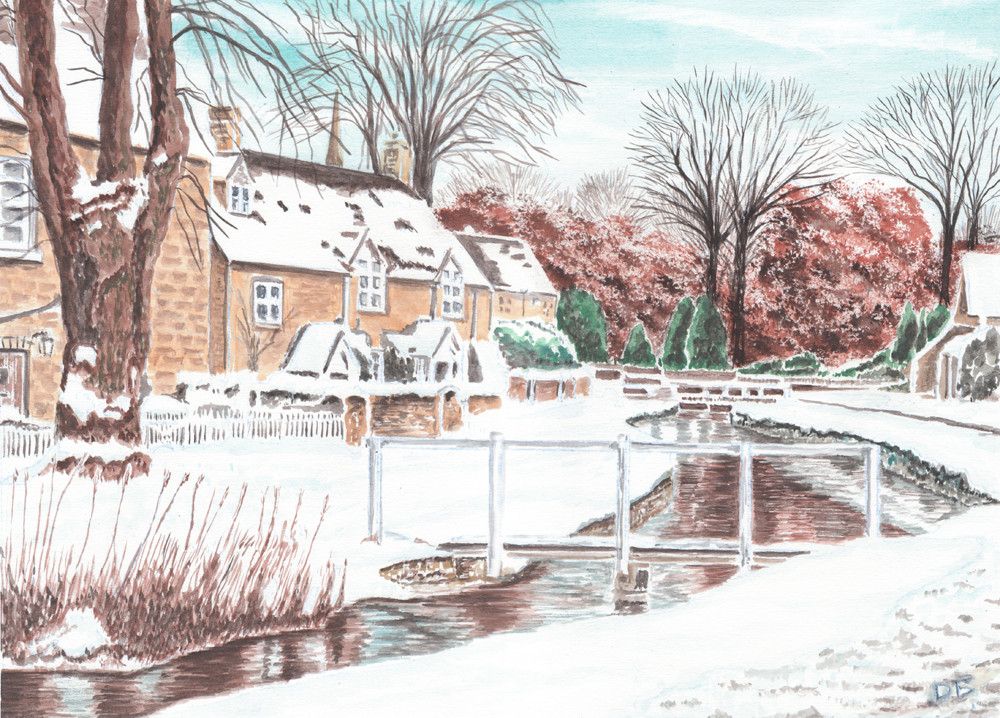 Lower Slaughter In Winter