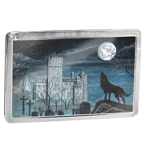 Castle Dracula - Fridge Magnet