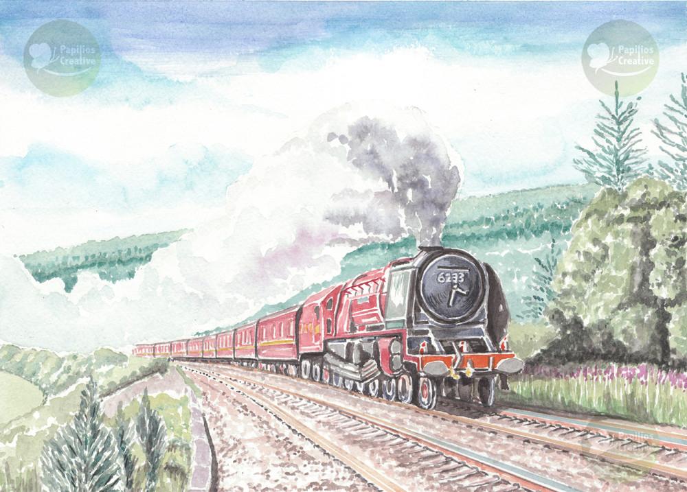 Steam Train - 6233 Duchess of Sutherland
