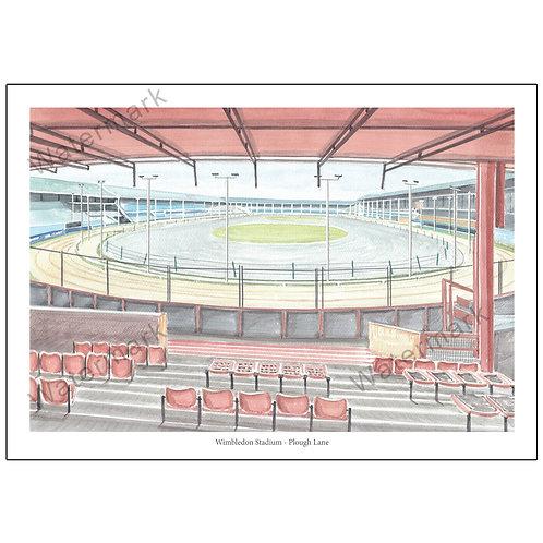 Wimbledon Stadium, Plough Lane - Inside View, L