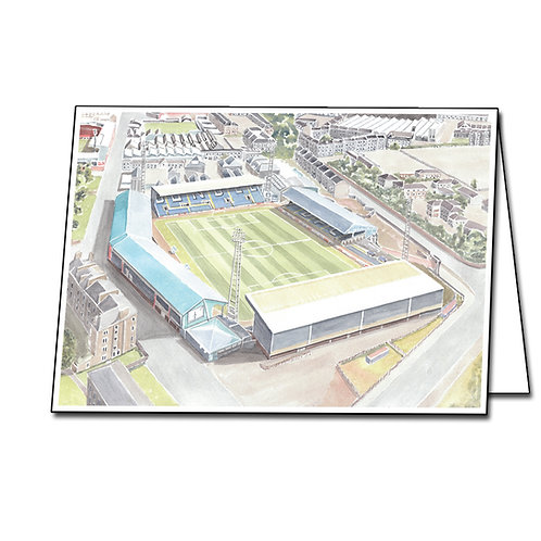 Dundee Football Club - Dens Park - Greetings Card Landscape, A5/A6