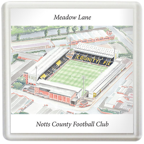 Notts County Football Club - Meadow Lane - Coaster