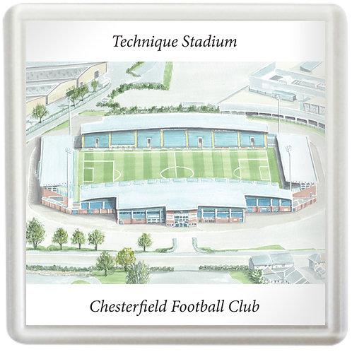 Chesterfield Football Club, Technique Stadium - Coaster