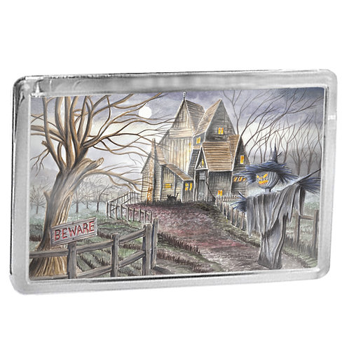 Witches House - Fridge Magnet