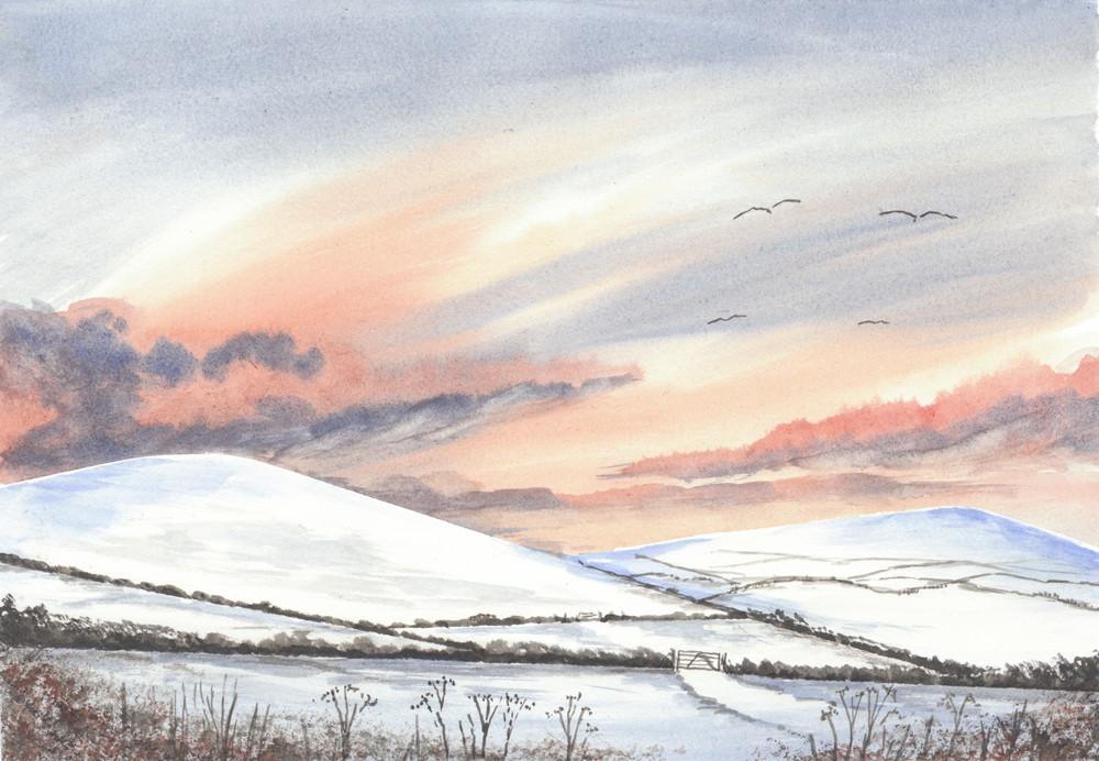 Winter Hillside