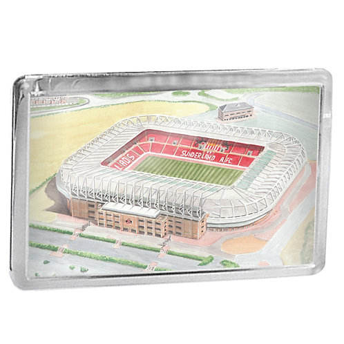 Sunderland AFC - Stadium Of Light - Fridge Magnet