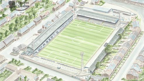 Chesterfield FC, Saltergate Recreation Ground
