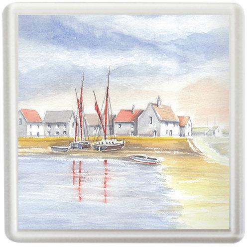 Norfolk Fishing Village - Coaster