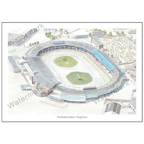 Wimbledon Stadium, Plough Lane - Aerial View, L