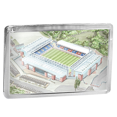 Blackburn Rovers Football Club - Ewood Park - Fridge Magnet