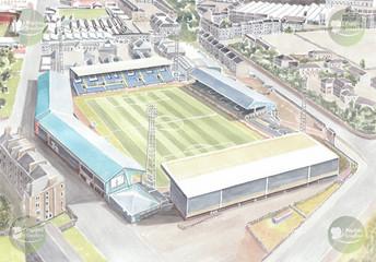 Football Stadium - Dundee FC - Dens Park