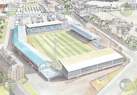 Football Stadium - Dundee FC - Dens Park