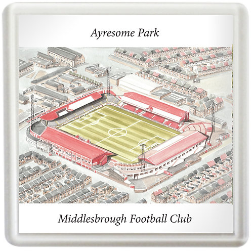 Middlesbrough Football Club - Ayresome Park - Coaster