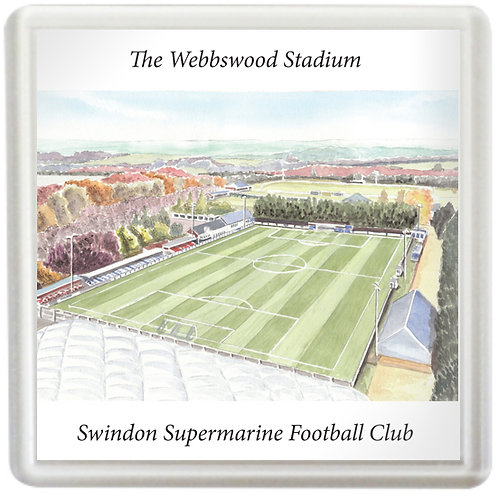 Swindon Supermarine - Webbswood Stadium - Coaster