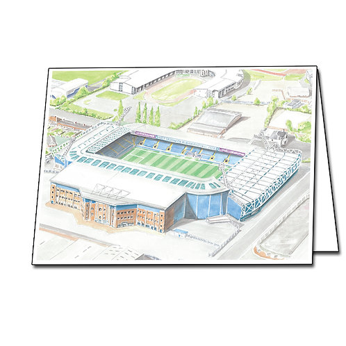 West Bromwich Albion - The Hawthorns - Greetings Card Landscape, A5/A6