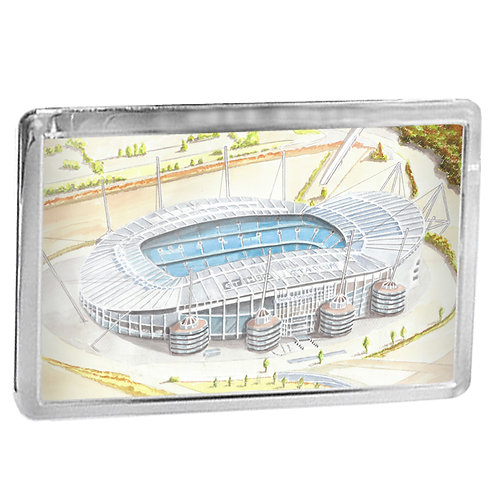 Manchester City - The Etihad Stadium - Fridge Magnet