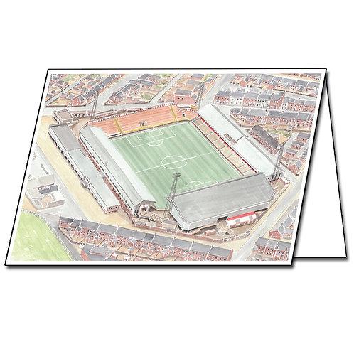 Sunderland AFC, Roker Park - Greetings Card A5/A6
