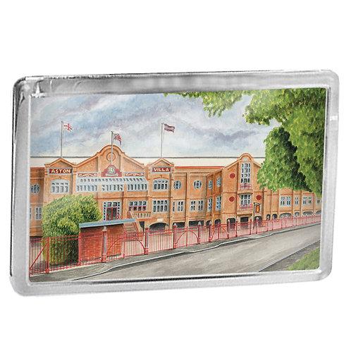 Aston Villa - Old Trinity Road Stand - Fridge Magnet