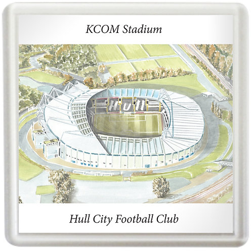 Hull City Football Club - KCOM Stadium - Coaster