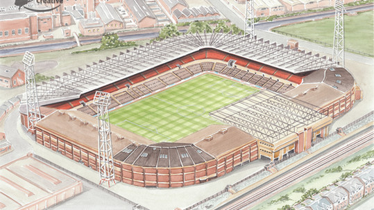 Manchester United - Old-Trafford 1980s