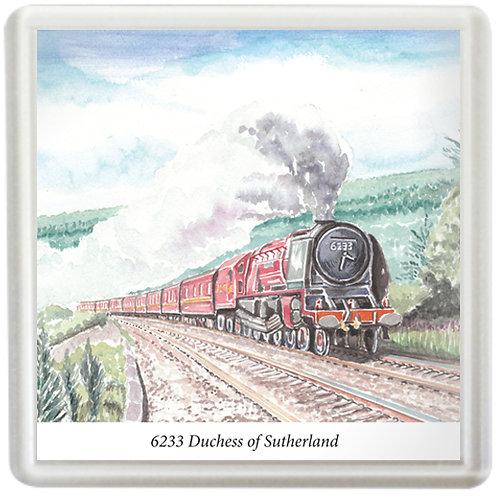 5233 Duchess Of Sutherland - Coaster
