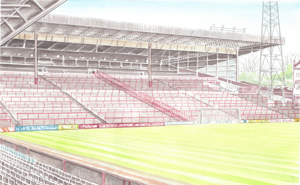 The Holte End Before 1994 - Aston Villa Football Club