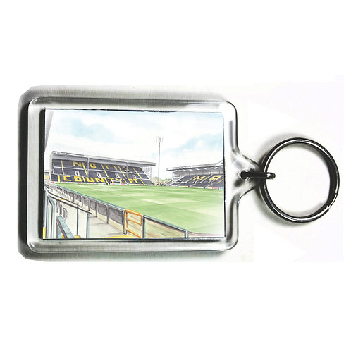 Notts County Football Club - Inside Meadow Lane - Keyring