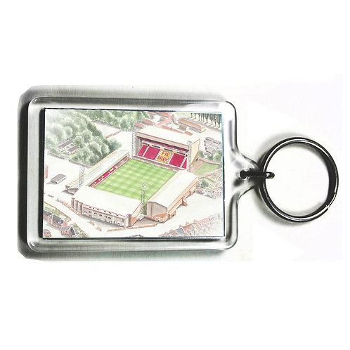 Motherwell Football Club - Fir Park - Keyring