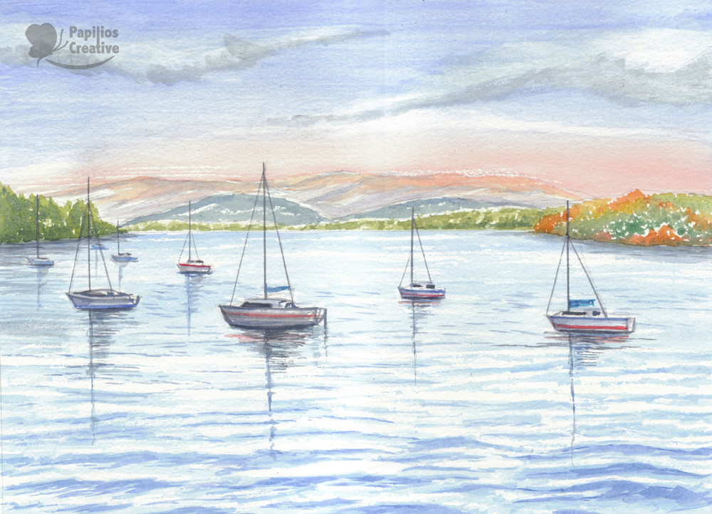 Lake Windermere, Western Shor