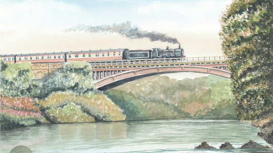 Victoria Bridge, Severn Valley Railway