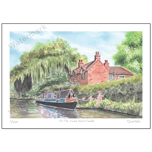 Grand Union Canal, Print A4 or A3